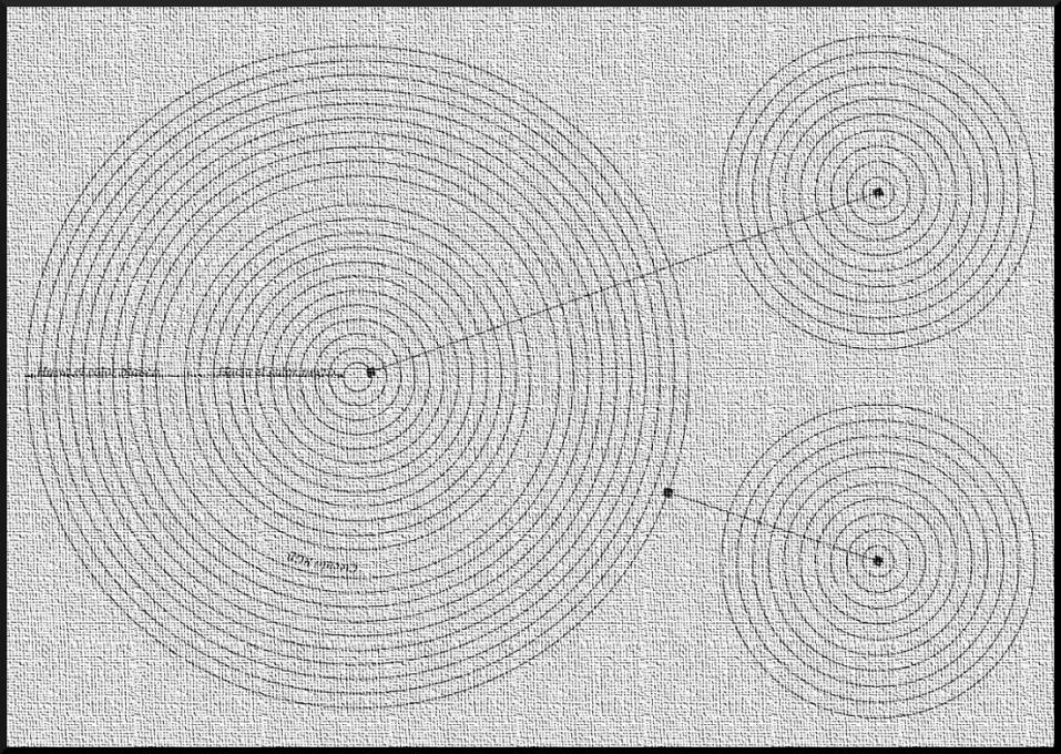 Esquema gráfico para pasar de los discos a la esfera.
