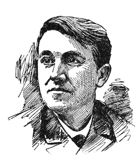 Rostro de Thomas Edison.
