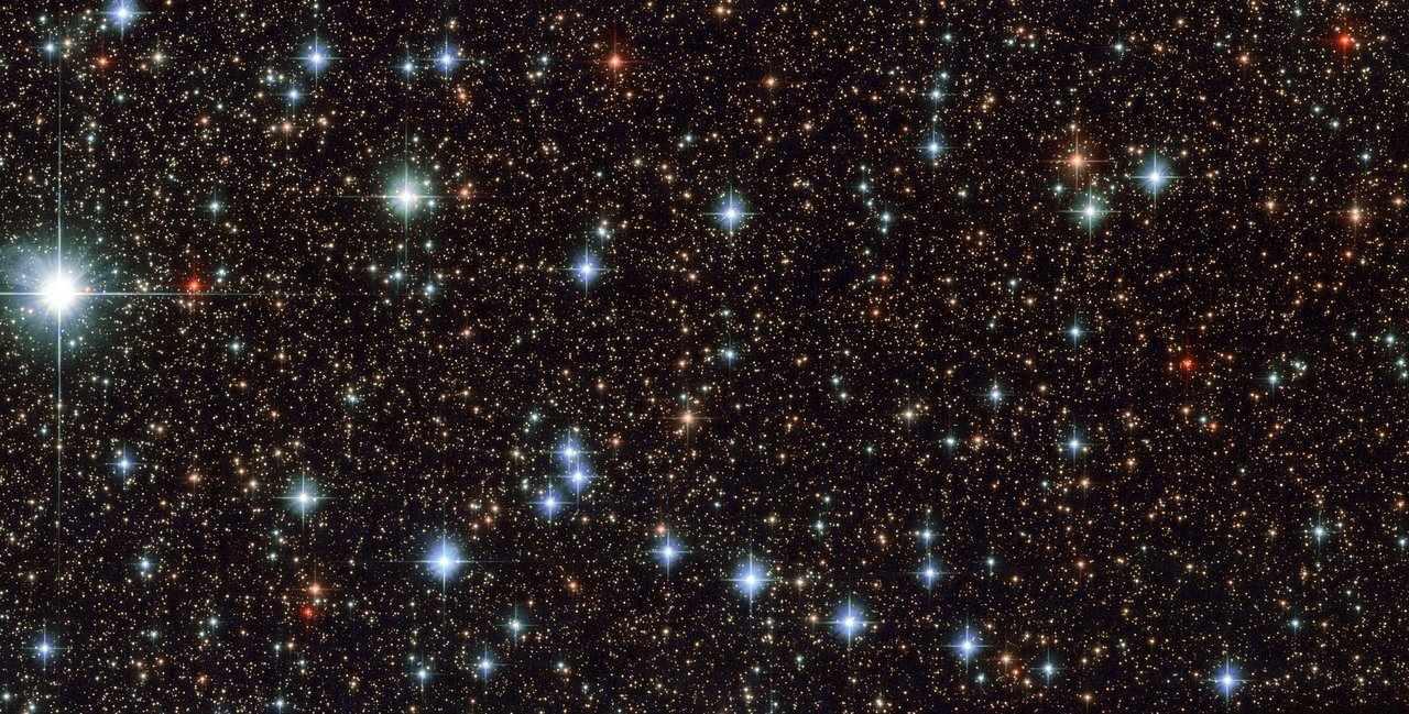 Preciosa imagen de las estrellas capturada por la NASA/ESA con el telescopio Hubble.